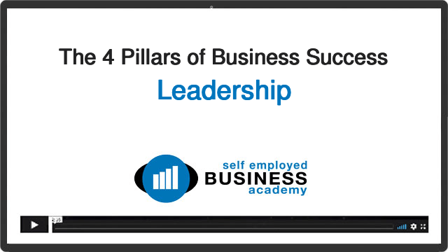 Leadership for self-employed business owners