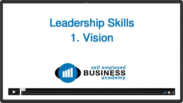 Leadership skill 1: vision