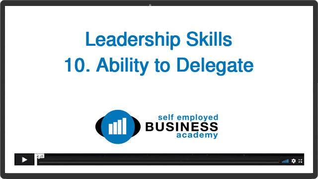 Ability to delegate