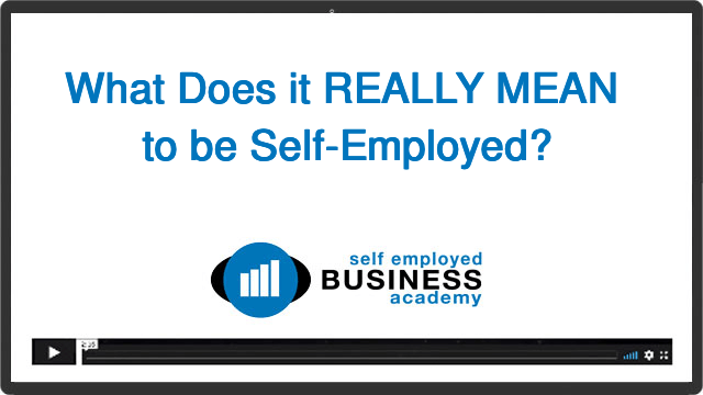 What self-employed really means