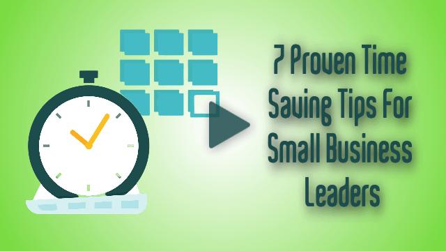 proven time saving tips