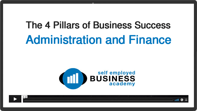 Business Success Pillar 4 - Administration and Finance