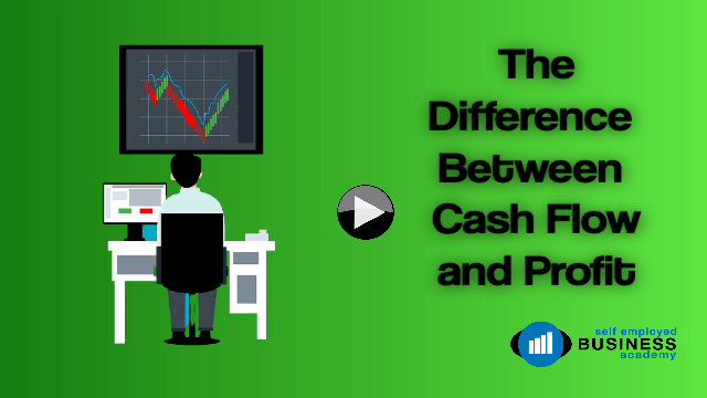 The difference between profit and cashflow