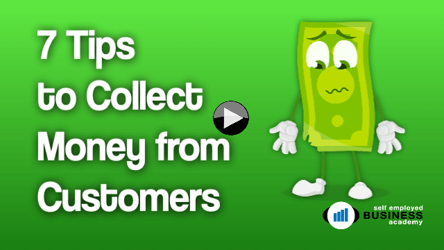 tips for collecting money from clients