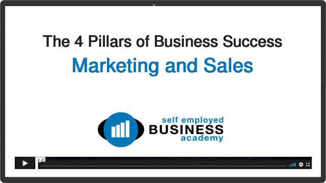 Business success pillar: marketing and sales
